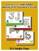 Birthday ~ Teaching by the Letter Holiday Strip Number Puzzles - Freebie