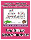 Birthday ~ Teaching by the Letter Holiday Strip Number Puz