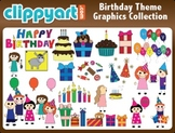 Birthday Theme Clipart Collection
