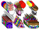 Birthday Theme Clipart (Personal & Commercial Use)