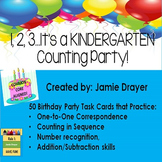Basic Counting Task Cards: One to One Correspondance & Number Recognition