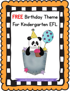 Birthday Theme for ELL