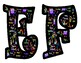 Birthday Themed Bulletin Board Letters