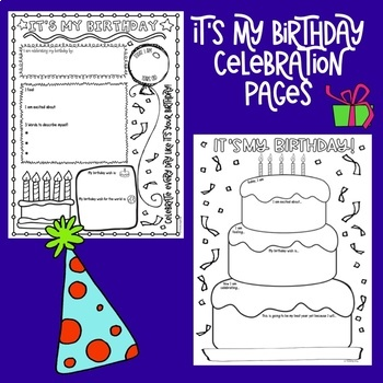Birthday Think Book Student Journal