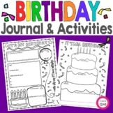 Birthday Think Book Student Guided Journal | Student Birth