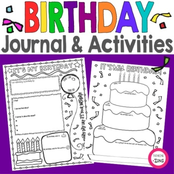 Birthday Think Book Student Journal