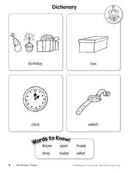 Birthday Time (Leveled Readers' Theater, Grade 1)
