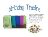 Birthday Timeline-chronology