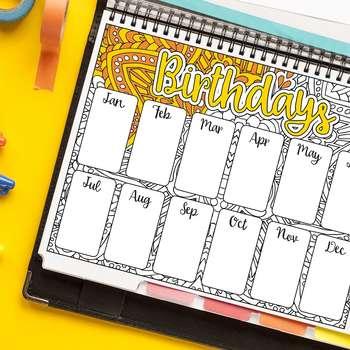 Birthday Tracker (A)