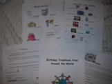 Birthday Traditions of the World-Common Core Aligned-Many subjects