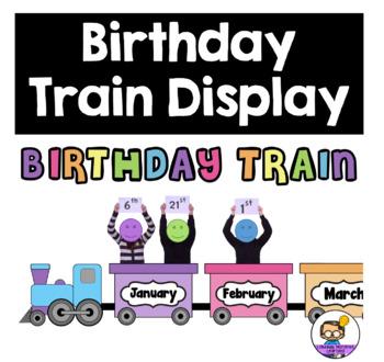 Birthday Train Classroom Display