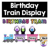 Birthday Train Classroom Display