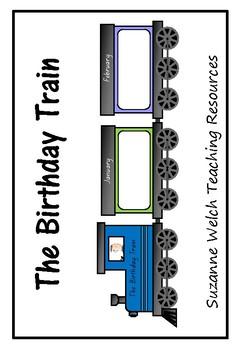 Birthday Train – wall display