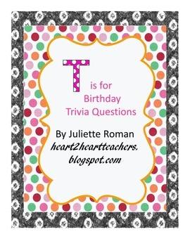 Birthday Trivia