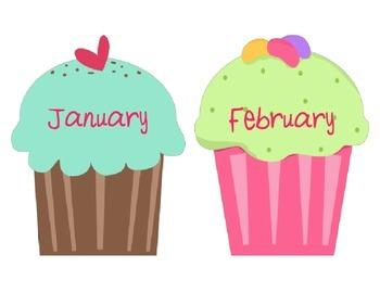 Birthday Wall Cupcakes