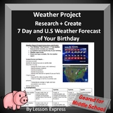 Weather Project -- Birthday Weather Forecast