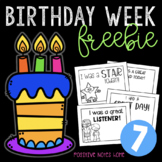 Birthday Week Freebie #7 - Positive Notes Home