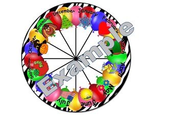 Birthday Wheel