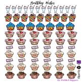 Birthday Wishes Happy Planner Stickers
