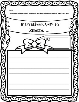 Birthday Writing Prompts { Set of 3 } FREEBIE