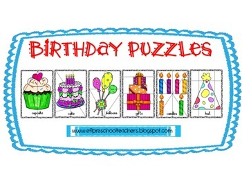 Birthday and Numbers for Preschool ELL