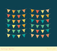 Birthday bunting clipart, Summer party banner flags pennant garland clip art