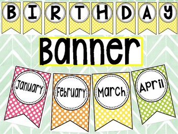 Birthday display Banner