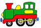 Birthday train display