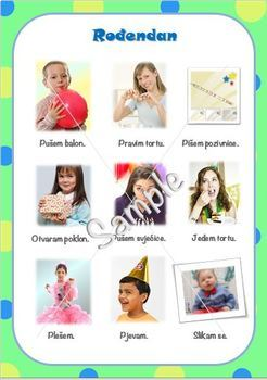 Birthday vocabulary in Croatian