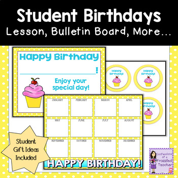 Birthdays - Celebrate Your Students