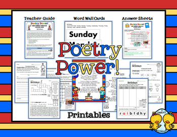 Poem of the Week: Birthdays Poetry Power!