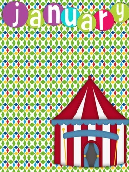 Birthdays and Months Circus Theme
