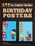 Birthdays and Months Pirate Theme