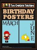 Birthdays and Months Pirate Theme 2