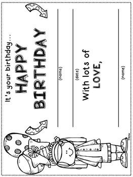 EDITABLE Birthdays calendar- Ready to print