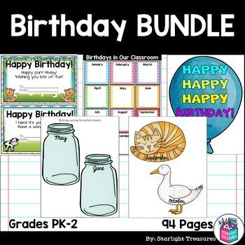 Birthdays In The Classroom Kit Birthday Cards Bulletin Board Kits