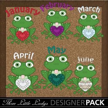 Birthstone Frogs 3