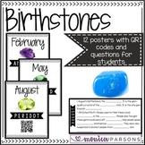 Birthstones with QR Codes