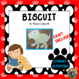 Biscuit Distance Learning Packet for First and Second Grade