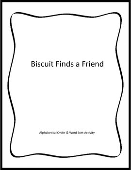 Biscuit Finds a Friend - Activities