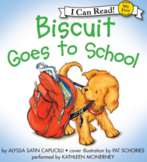 Biscuit Goes to School - Flash Cards