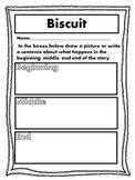 Biscuit Story Activities