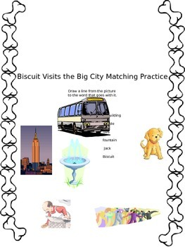 Biscuit Visits the Big City Matching Practice