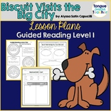 Biscuit Visits the Big City by Alyssa Capucilli Guided Reading Plan Level F