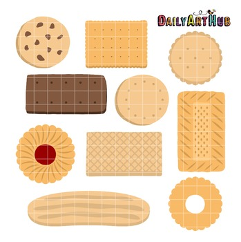 Biscuits Clip Art - Great for Art Class Projects!