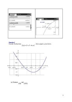 Bisection method and Newton's method.