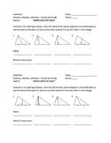 Bisectors, Medians, and Altitudes - Visuals and Vocab Quiz
