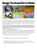 Bismarck's Three Germanic Wars