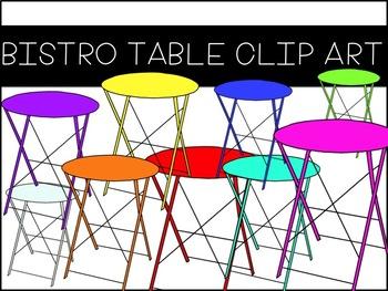 Bistro Table Clip Art