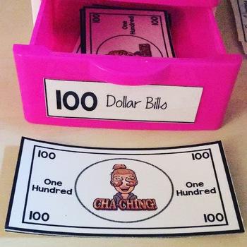 Bit Bucks Editable Classroom Money